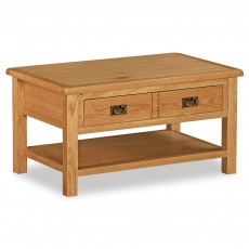 Surrey Oak Compact Coffee Table
