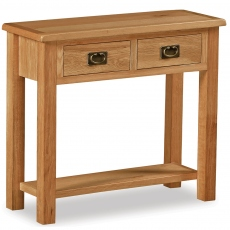 Surrey Oak Compact Console Table