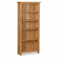 Surrey  Oak Compact Large Bookcase