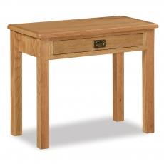 Surrey Oak Compact Laptop Desk