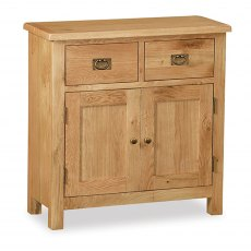 Surrey Oak Compact Mini Sideboard