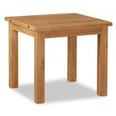 Surrey Oak Compact Square Extending Table