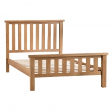 Odessa Oak 6FT Super king Bed Frame