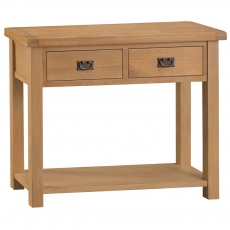 Odessa Oak Medium Console Table