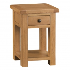 Odessa Oak Nest of 2 Tables