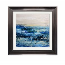 Blue Waters Liquid Wallart