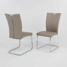 2 x Taupe Opus Dining Chair
