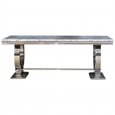 Rhianna Dining Table - Grey 200cm