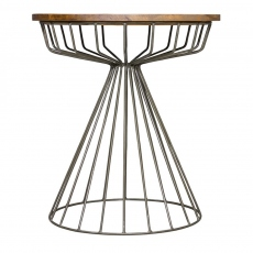 New Horizon Birdcage Side Table