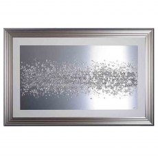 Abstract Cluster Framed Artwork