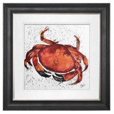 Crab Hand-Painted Wall Art