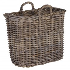 Grey Kubu Magazine Basket