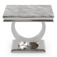 Rhianna Lamp Table Grey