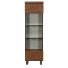 Porto Narrow Display Cabinet