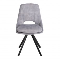 Rolo Dining Chair Grey
