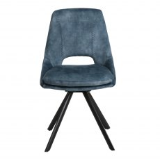 Rolo Dining Chair Blue