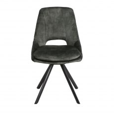 Rolo Dining Chair Green
