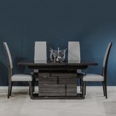 Midnight Extending Table Set