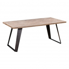 Mozart Fixed Top Dining Table