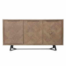 Mozart 3 Door Sideboard