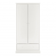Ashby White Double Wardrobe