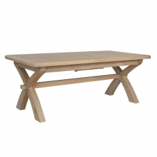 Gloucester 2m Cross Leg Extending Dining Table