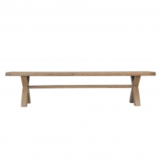 Gloucester 2m Cross Leg Dining Bench