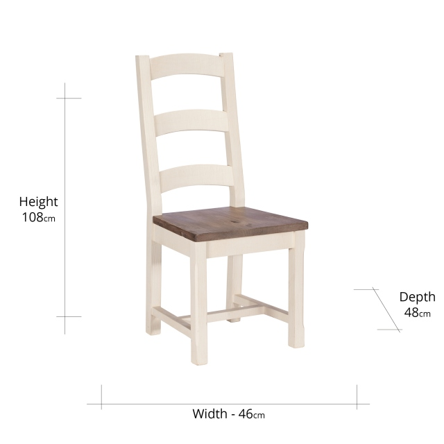 Camilla Reclaimed Wooden Dining Chair FSC Certified