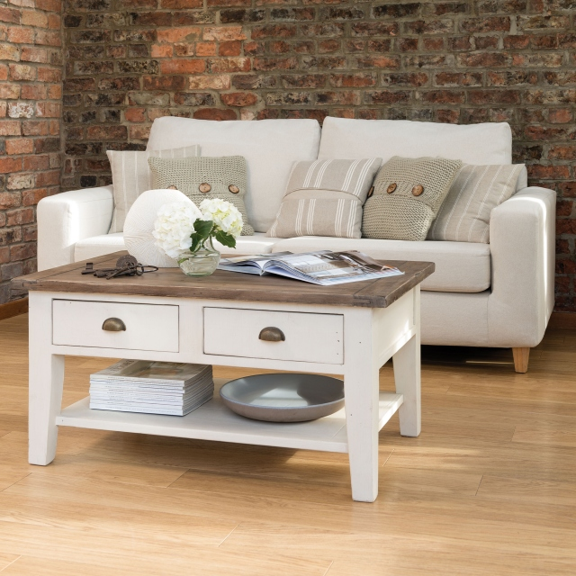 Camilla Reclamied Wooden Coffee Table FSC Certified