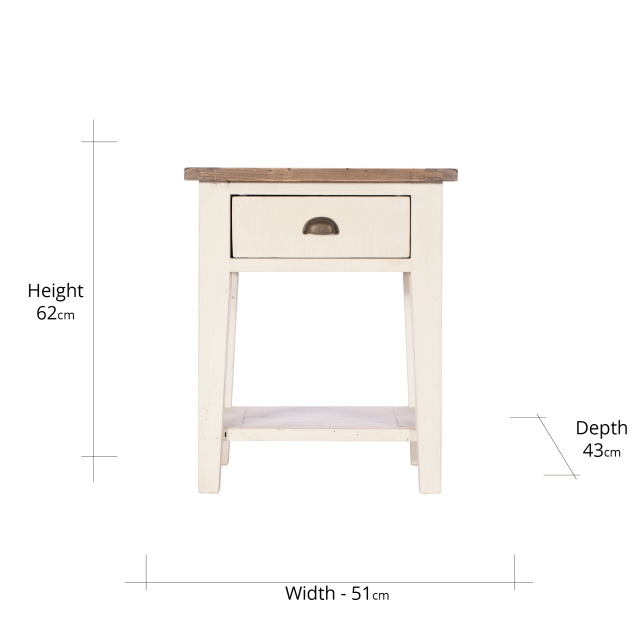 Camilla Lamp Table FSC Certified
