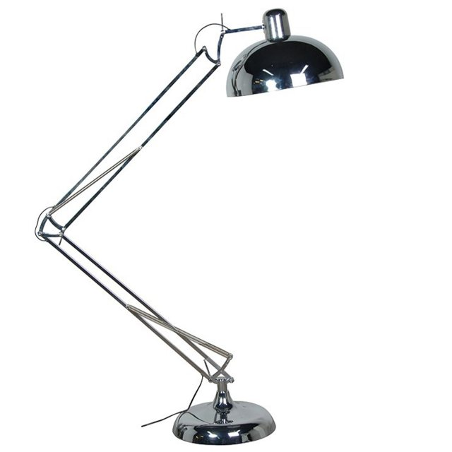 Chrome Loco Floor Lamp