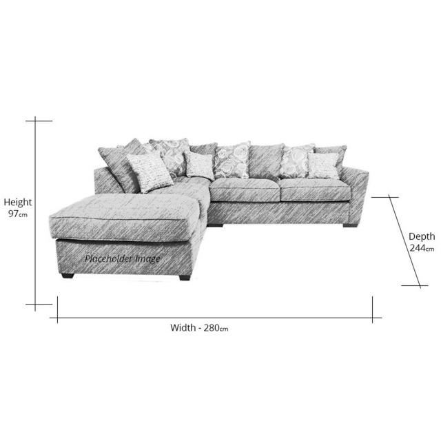 Fantasia Sofa Left Hand Corner