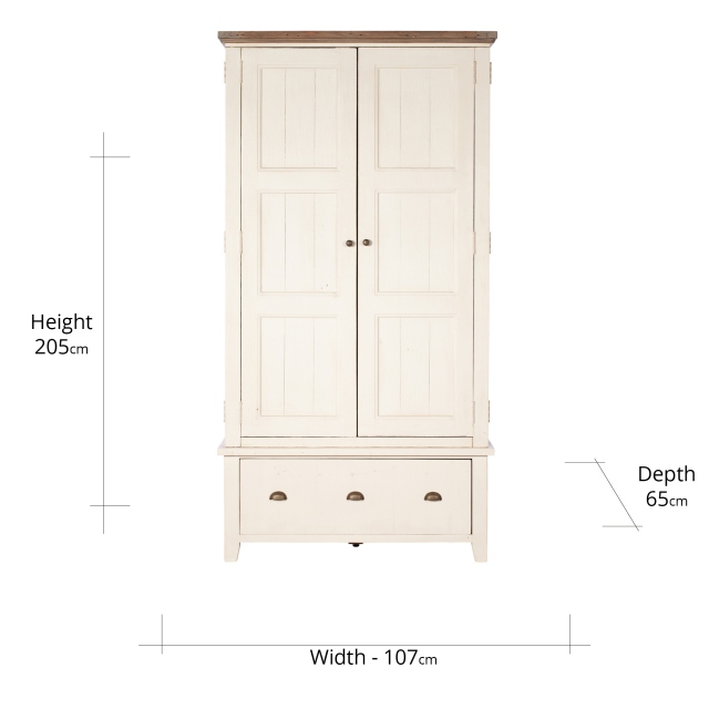 Santiago Large Double Wardrobe