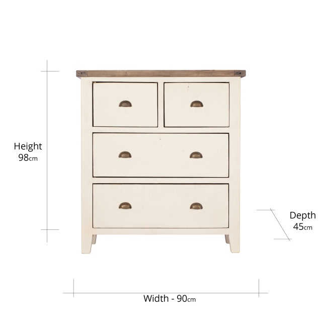 Camilla 4 Drawer Chest