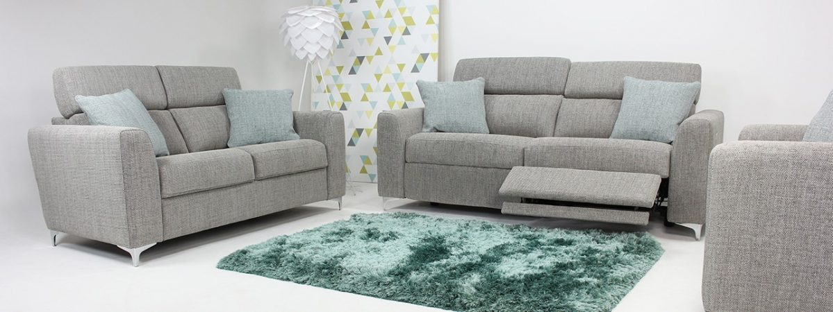 Elano 2 Seater Small Fabric Sofa