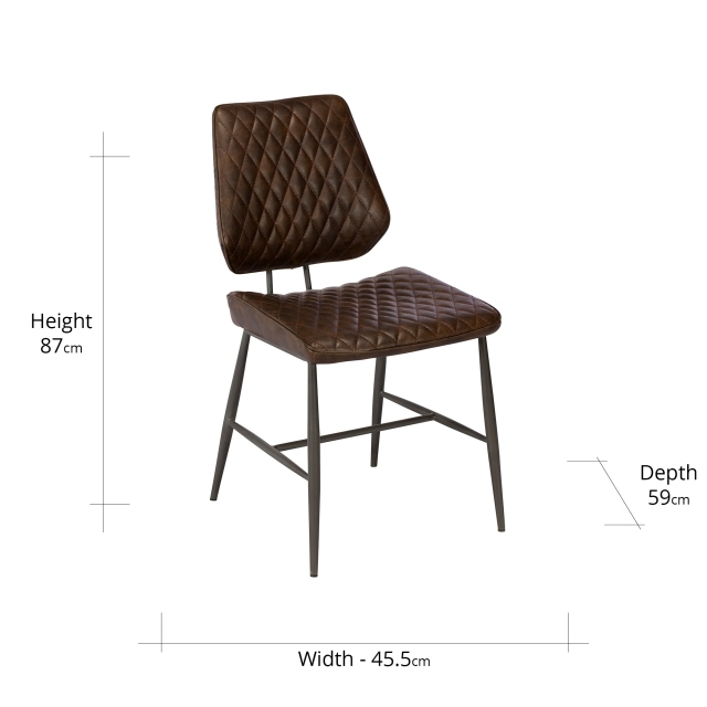 Strange Carson Dining Chair Dark Brown Theyellowbook Wood Chair Design Ideas Theyellowbookinfo