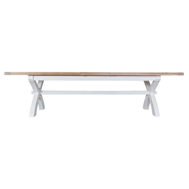 Toronto 2.5m Cross Extending Dining Table