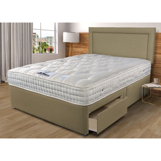 Sleepeezee Sleepeezee Backcare Luxury 1400 Divan Set