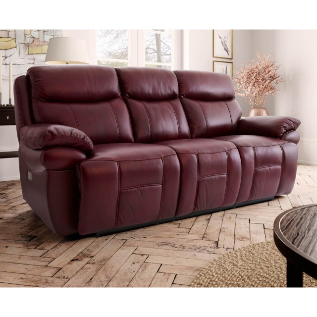 Wondrous Boston 3 Seater Power Recliner Comfort Plus Gmtry Best Dining Table And Chair Ideas Images Gmtryco