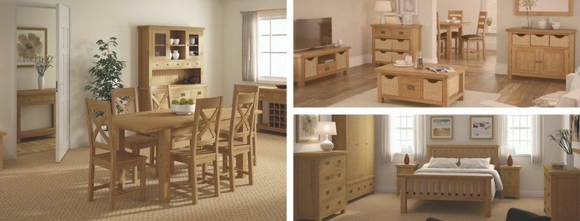 Cheltenham Oak Chest 5 Drawer main image 2