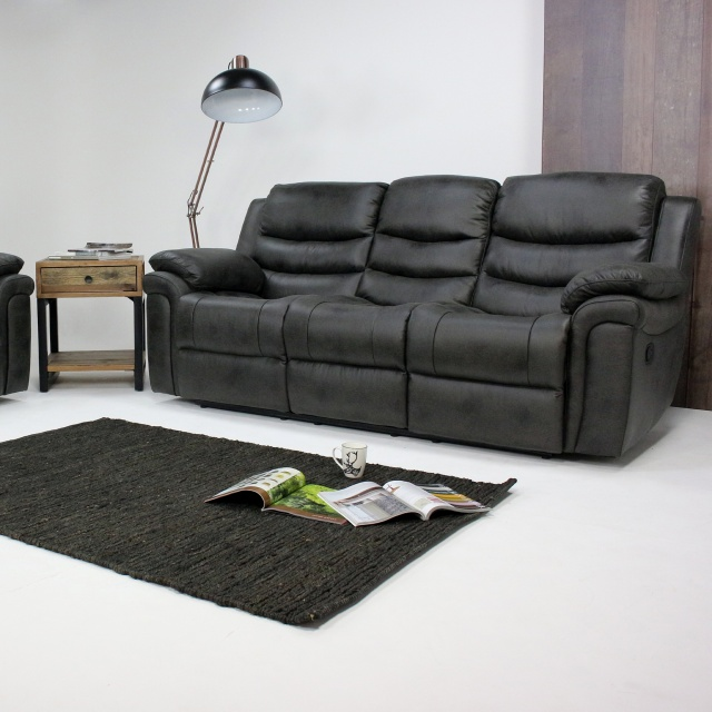 Brilliant Detroit 3 Seater Recliner Sofa Bralicious Painted Fabric Chair Ideas Braliciousco