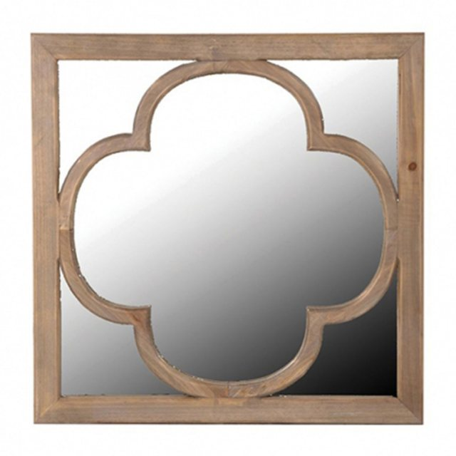 wooden relief mirror thumbnail image