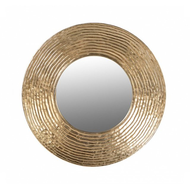 midas gold circle mirror thumbnail image