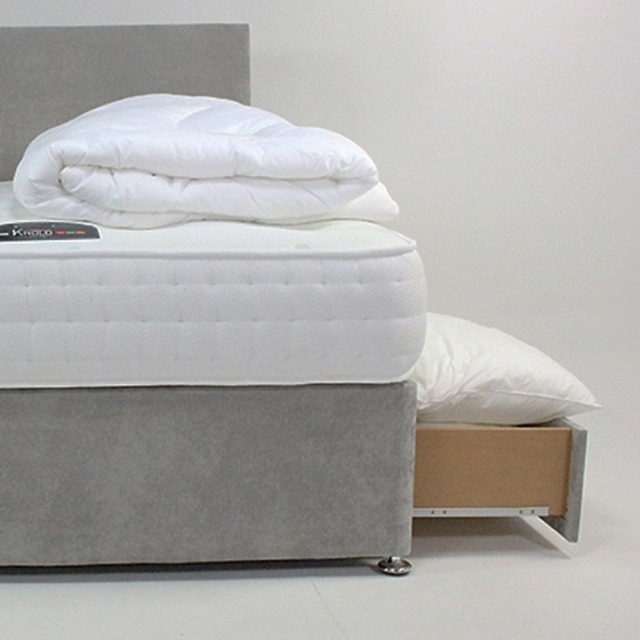 1500 Bamboo Front View Mattress