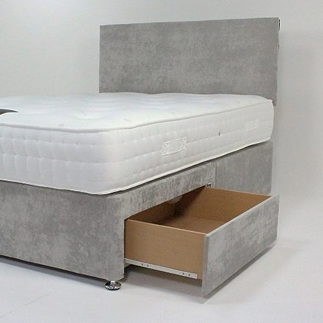 1500 Bamboo Side View Mattress