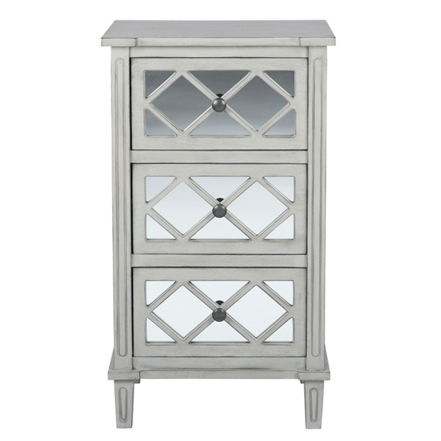 Dove Grey 3 drawer unit