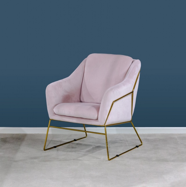 Pleasant Victoria James Holborn Accent Chair Pink Ocoug Best Dining Table And Chair Ideas Images Ocougorg