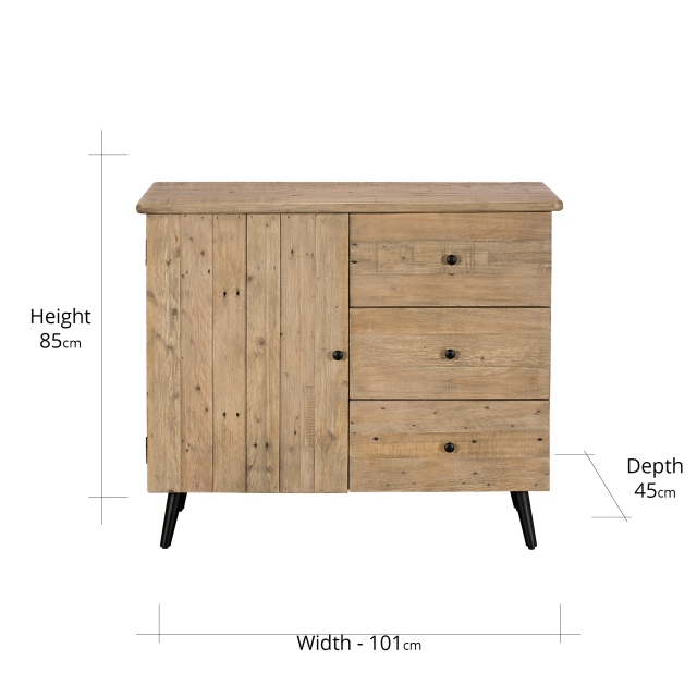 Madeira Narrow Sideboard