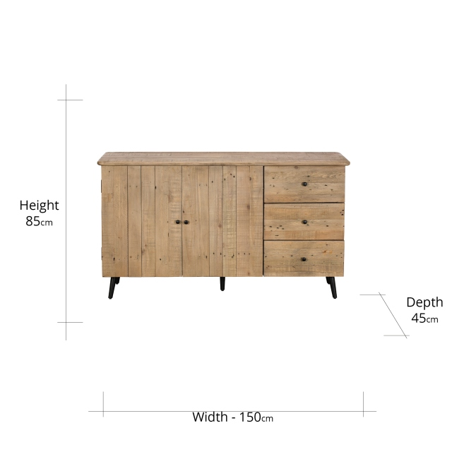 Madeira Wide Sideboard