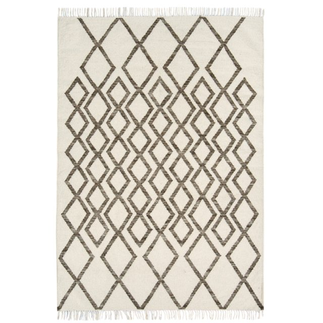 Hackney Diamond Taupe Rug